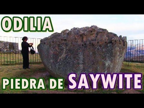 visita a LA PIEDRA DE SAYWITE, PERU legado de los incas, Una maqueta petrea que tiene diversas teorias acerca de su origen y su uso,