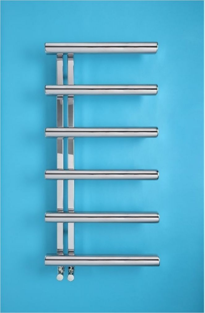 RSF Bathrooms - Appliance Store - Bisque - Electric Chime Towel Radiator  1070 x 500 -