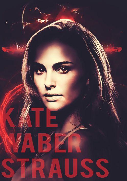 Kate W. Strauss (Natalie Portman) - HANTED SIDE