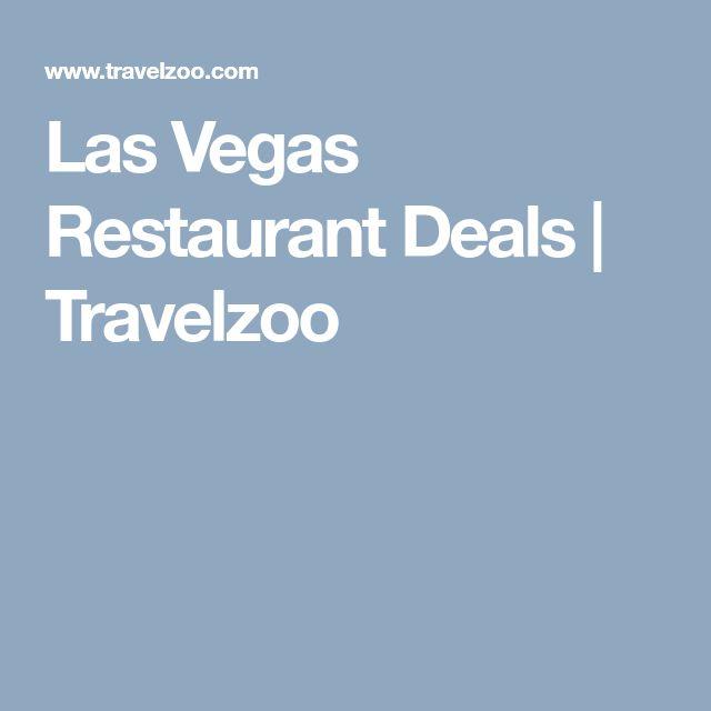 Las Vegas Restaurant Deals | Travelzoo