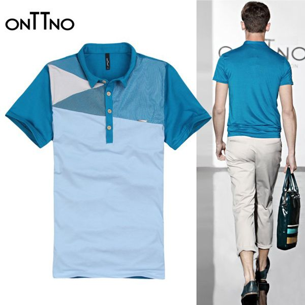 ONTTNo Rhomboid Design Polo Shirt http://www.sneakoutfitters.com/Designer-Brands/ONTTNo-Rhomboid-Design-Polo-Shirt-p3990.html