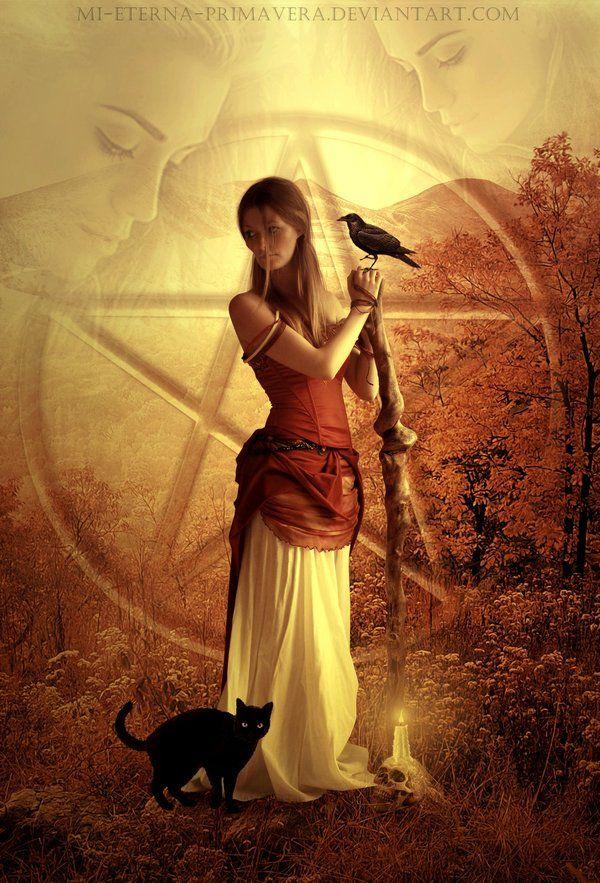 Daughter of the Earth by mi-eterna-primavera.deviantart.com on @deviantART
