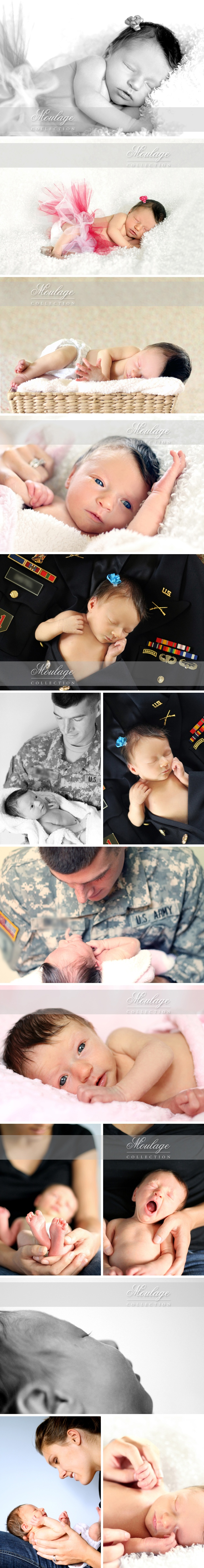 Newborn baby girl + Army baby photography...have to repin because this is my baby girl :)