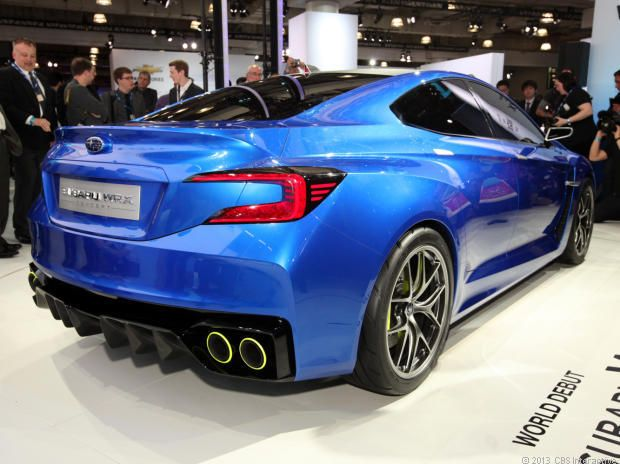 Can't wait until I see these on the road: 2014 Subaru WRX