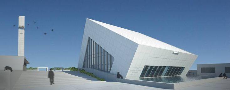 C'est le cabinet d'architecture des frères turques Manço qui pour la ville de Kayseri se sont aventurés dans la conception d'une mosquée. Et le résultats est vraimentintéressant. Ils ont gardé l'élément fondamental de l'architecture original des mosquées, une forme cubique, un grand volume unique. Du moins, ils ont gardé le principe, car le cube a […]