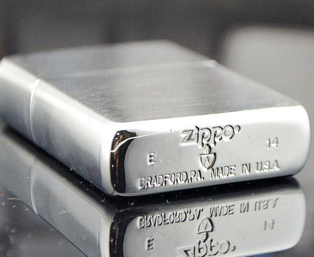 Zippo Armor Deep Carved Arrowhead Pattern Dagger Lighter