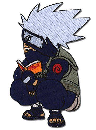 Naruto: Chibi Kakashi Reading Book Anime Patch Naruto https://www.amazon.com/dp/B005HYU676/ref=cm_sw_r_pi_dp_x_-H7oybEPDMTC5