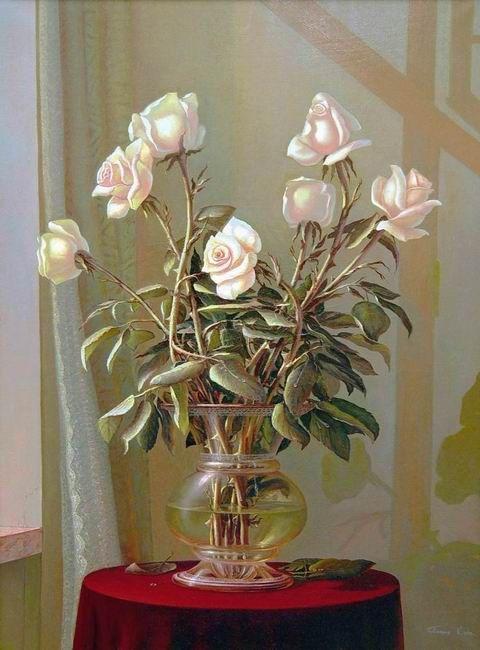Панин Сергей.  Белые розы