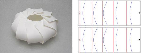 Varios paterns de origami Jun MITANI