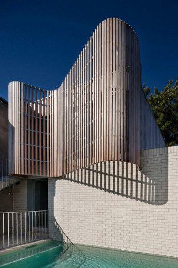 Melbourne house: Building, Facade, Clare Cousins, Bricks, Cousins Architects, Architecture, Brick Houses, Design