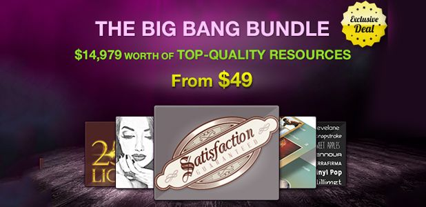 The Big Bang Web Designer's Resource Pack