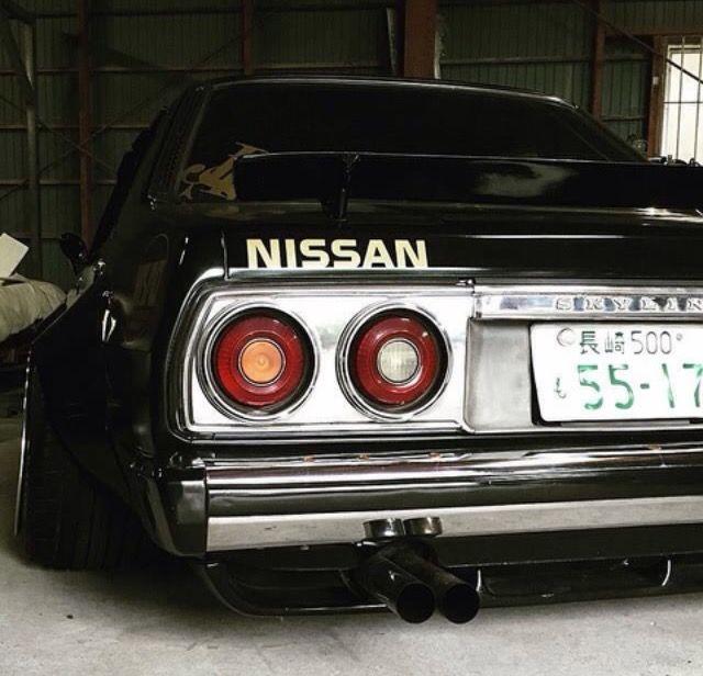 #Nissan #Skyline #C210 #JDM #Modified #Slammed #Stance #Camber