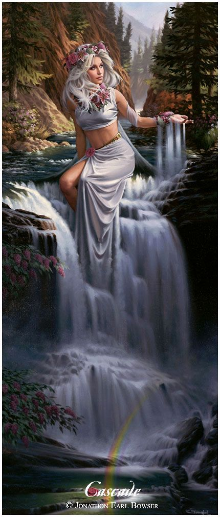 *CASCADE - I love this artist, he has the most beautiful work, all inspired by his beautiful wife.