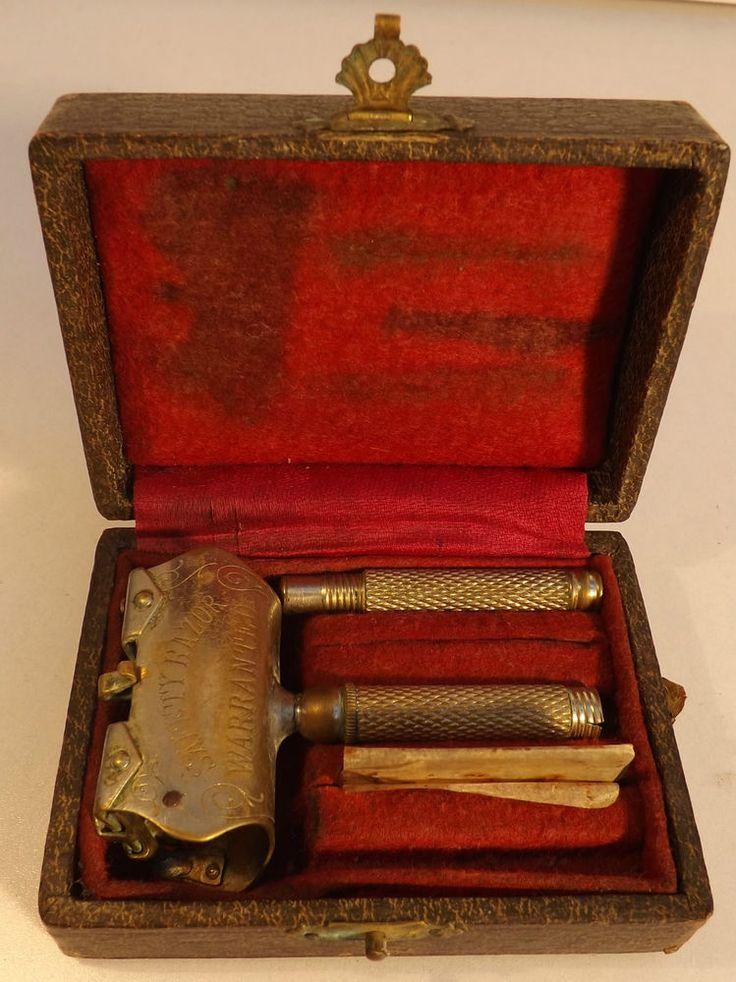 Antique Salvator Safety Razor Kit In A very stylish Box