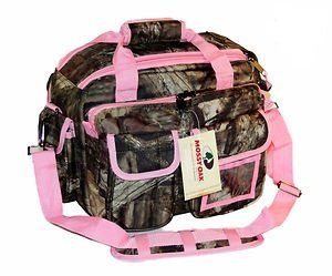 Amazon.com: Mossy Oak Pink Trim Camouflage Tactical Range Bag Pistol Case Gun Camera Bag: Sports & Outdoors