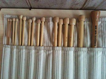 Bolsa para agujas de molde