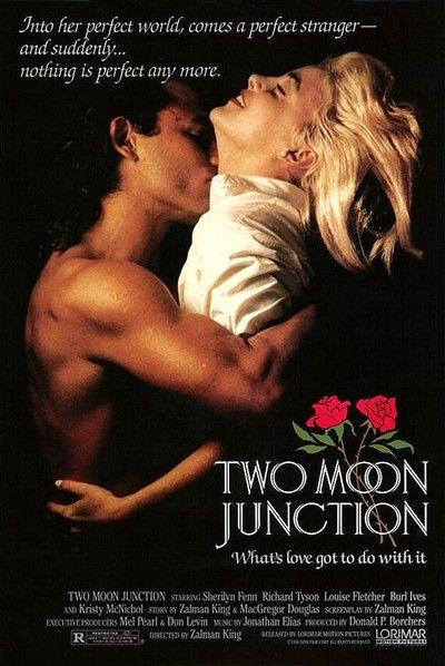 Two Moon Junction (1988) Stars: Sherilyn Fenn, Richard Tyson, Louise Fletcher, Burl Ives, Kristy McNichol, Dabbs Greer, Milla Jovovich ~ Director: Zalman King (Won 1 Razzie Award)