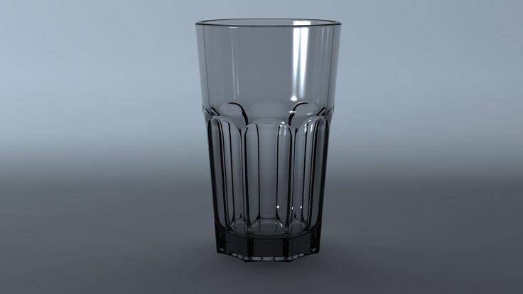 Drinking Glass, Henning Lande on ArtStation at https://www.artstation.com/artwork/drinking-glass