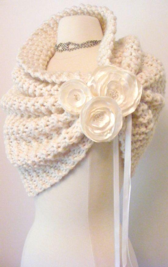 Elegant Knitting Shrug