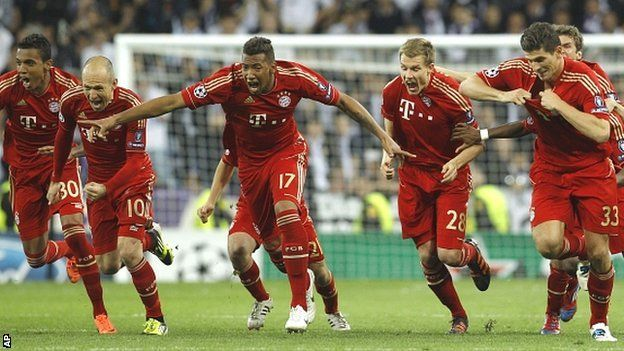 Bayern defeated Real Madrid on penalties to reach the Champions League final
