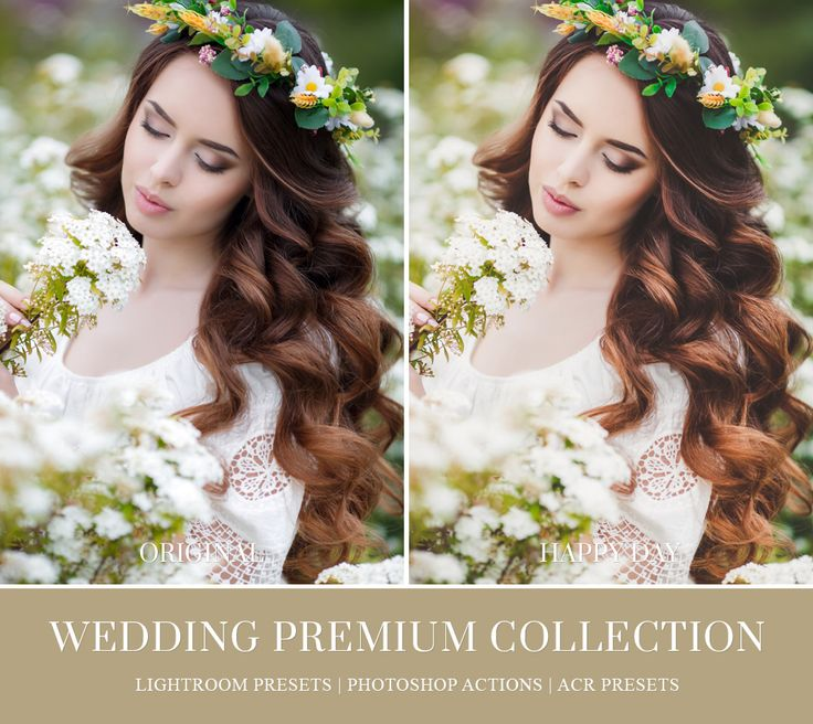 Professional Photoshop Actions For Wedding Photographers
