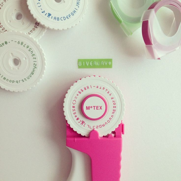 Win a #pink #motex labeler from #citygirlsearching in celebration of #nationalstationeryweek http://bit.ly/1k9zRau