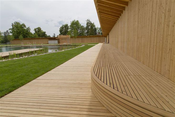 herzog de meuron naturbad riehen designboom decking