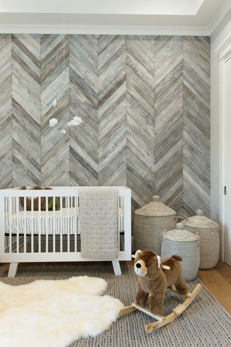 Colleen Ballinger's Nursery Makeover Bedroom wall