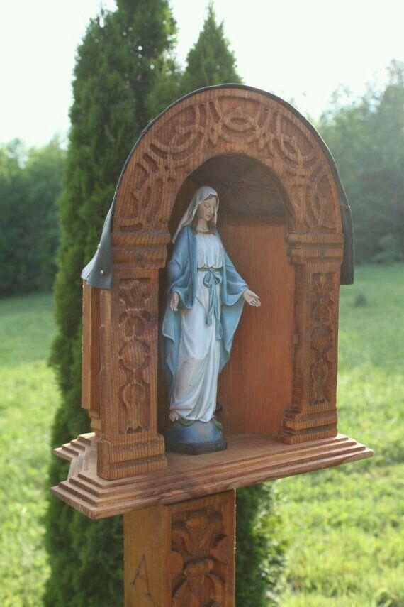 139 Best My Outdoor Shrine Images On Pinterest Poland