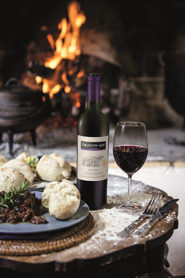 Oxtail, prune and port #potjie with Pinotage