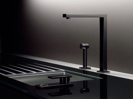 Porsche Design Studio. Kitchen Detail. Love how masculine this design is