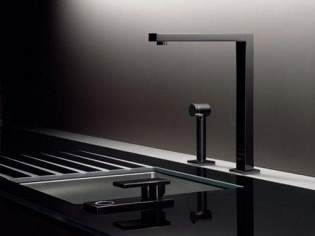 Porsche Design Studio. Kitchen Detail. Love how masculine this design is