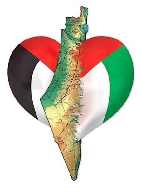 A glimpse into my heart. #Palestine