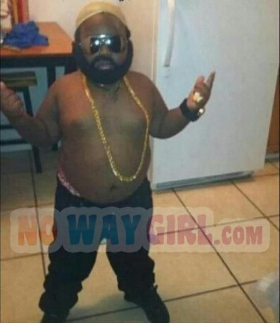 This Kid Is A Boss In His Rick Ross Halloween Costume