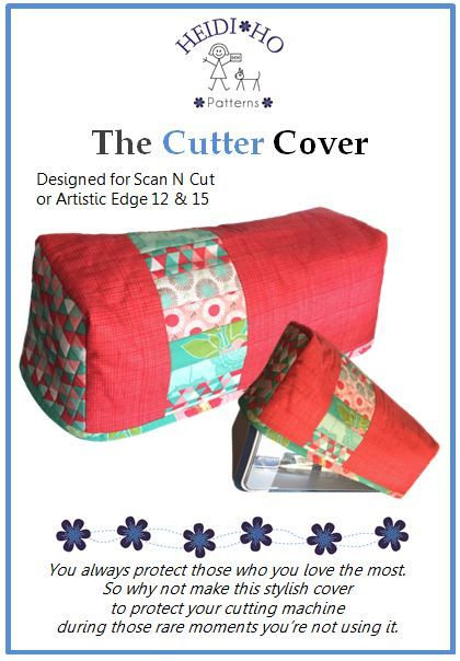 If you love your Scan'n'Cut or Atistic edge then you will love to make this super cover.