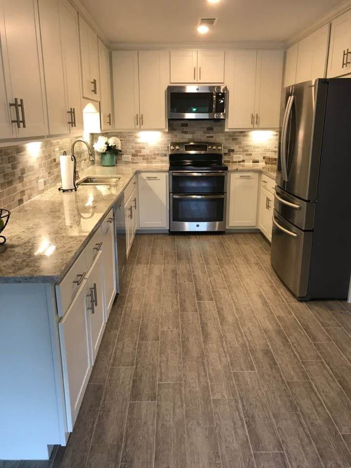 Floor Tile Design Ideas Kitchen Remodel Small Wood Tile Kitchen