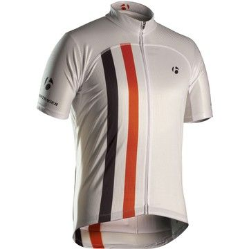 Bontrager's Replica Retro Racing Short Sleeve Jersey - The unibody design eliminates side panels for a superb fit, while vented underarms and back panels provide extra cooling. Its fit is meant to be like a second skin, so size up if you're looking for a bigger fit