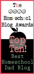 Top Ten Best Homeschool Dad Blogs @The Homeschool Post #hsba2013