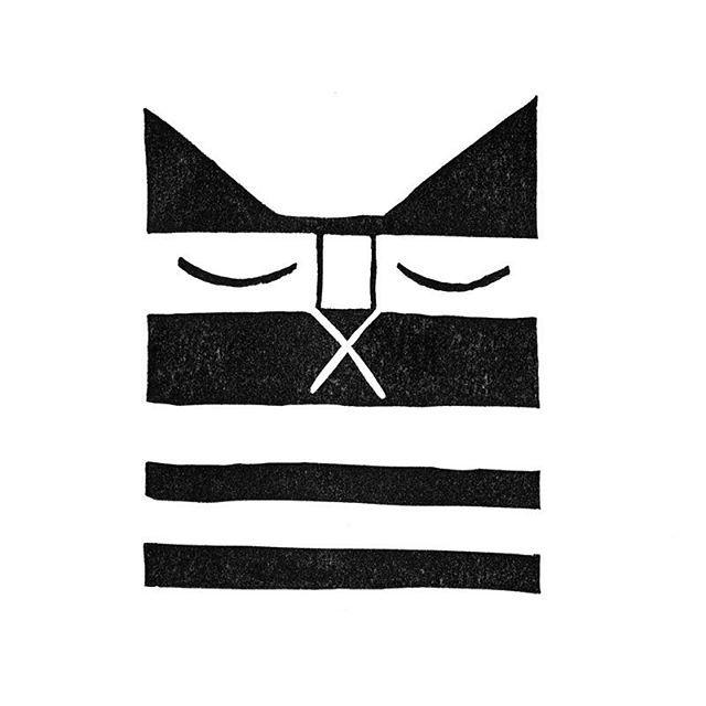 Making Cat stamps #cats #cat #catillustration #stamp #illustration #sleepycat #catstamp