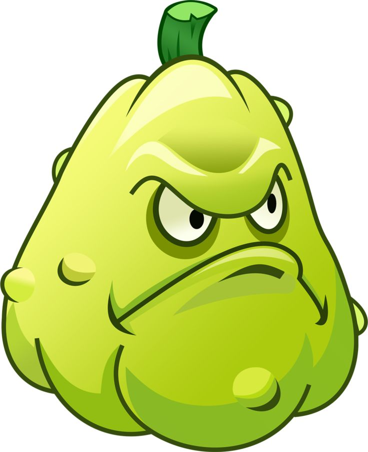 Plant vs zombies squash coloring pages - Imagui