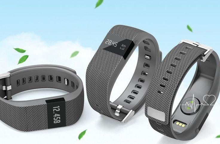 FitPro HR Plus Smart Wristband Bluetooth Heart Rate Monitor, Pedometer, Calories, Sleep