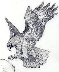 Картинки по запросу татуировка сокола на плече