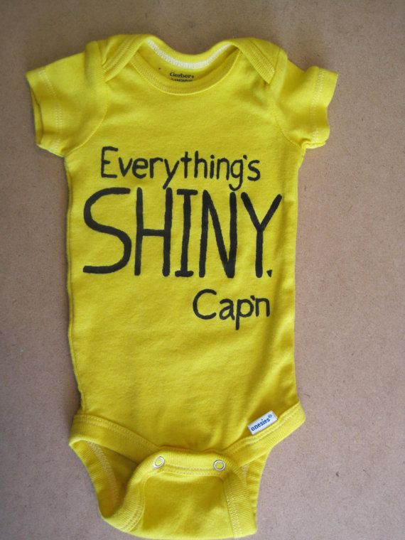 Hey, I found this really awesome Etsy listing at https://www.etsy.com/listing/167675442/everythings-shiny-capn-hand-painted-baby