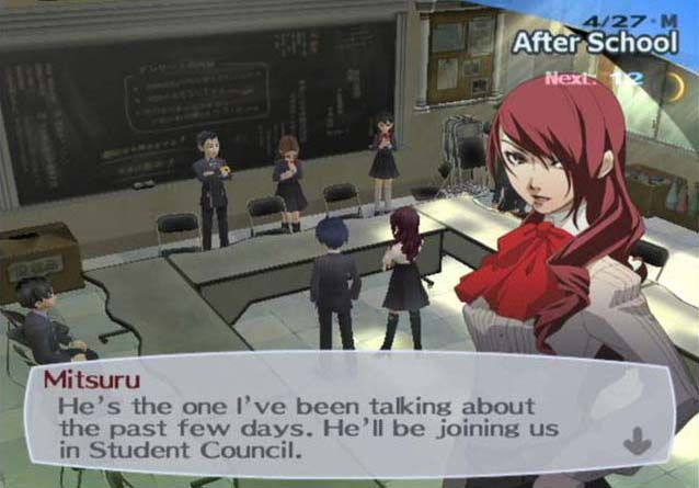 Persona 3 best dialog options for student council
