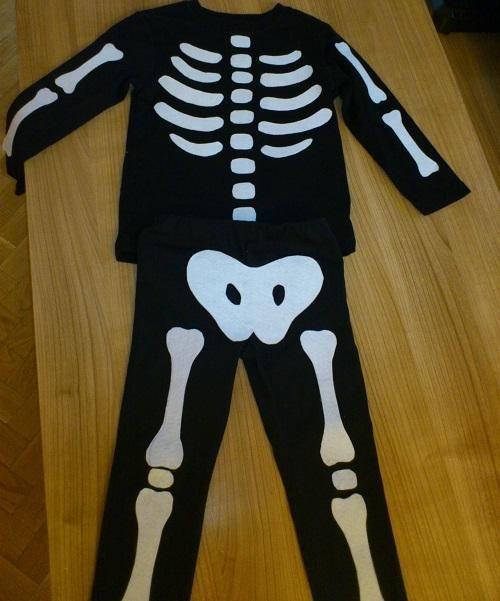 Como fazer uma fantasia de esqueleto - 7 passos - umComo