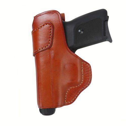 Tourbon Tactical Holster Pistol Handgun Holder OWB Belt Genuine Leather Left BR