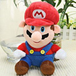 Lovely Super Mario Bros Series  Mario Face Doll Toy with Big Nose - Red Sammydress #My Thanksgiving Wish List