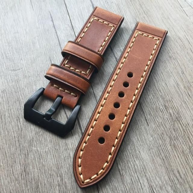 LEATHER APPLE WATCH STRAP NO.2