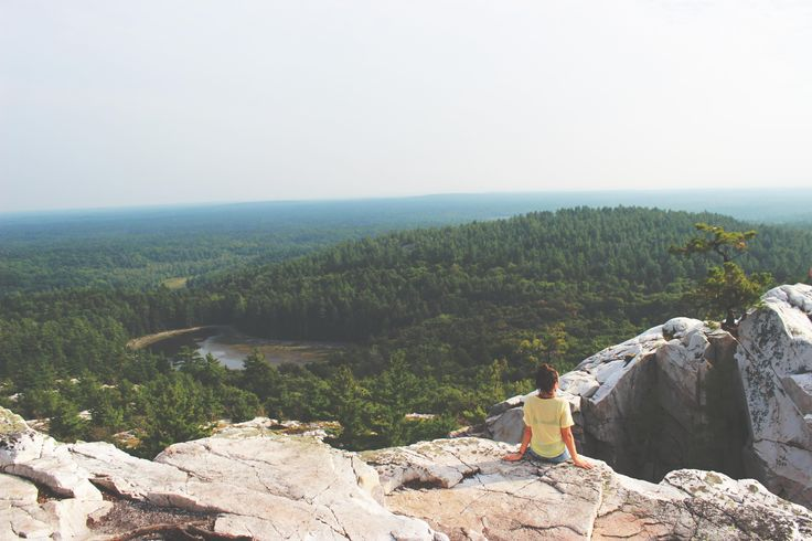The Crack Trail with its beautiful view