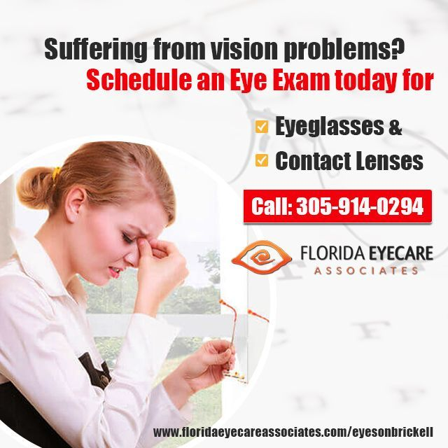 We are the leading provider of professional eye care services as well as branded eye glasses and contact lenses in Miami. Schedule an appointment with our eye care professional today.  http://floridaeyecareassociates.com/eyesonbrickell ---------   #EyeCare #EyeExam #EyeSpecialist #EyeWear #Sunglasses #Prescription #Glasses #Contact #Lenses #EyesOnBrickell #Brickell #Miami #Florida